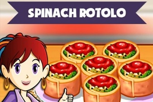 Sara's Cooking Class: Spinach Rotolo