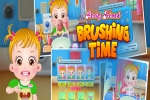 Baby Hazel: Brushing Time