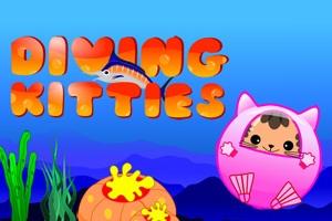 Diving Kitties