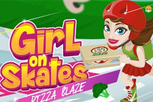 Girl on Skates: Pizza Blaze