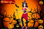 Halloween Pumpkins Girl Dress Up