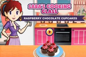 Sara's Cooking Class: Raspberry Chocolate Cupcakes